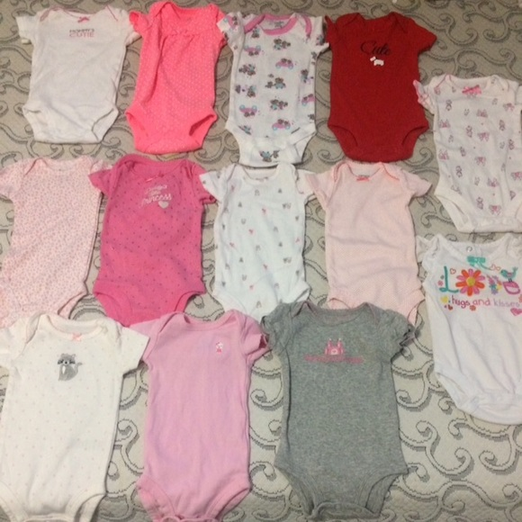 Carter S One Pieces Newborn Baby Girl Clothes From Carters 13
